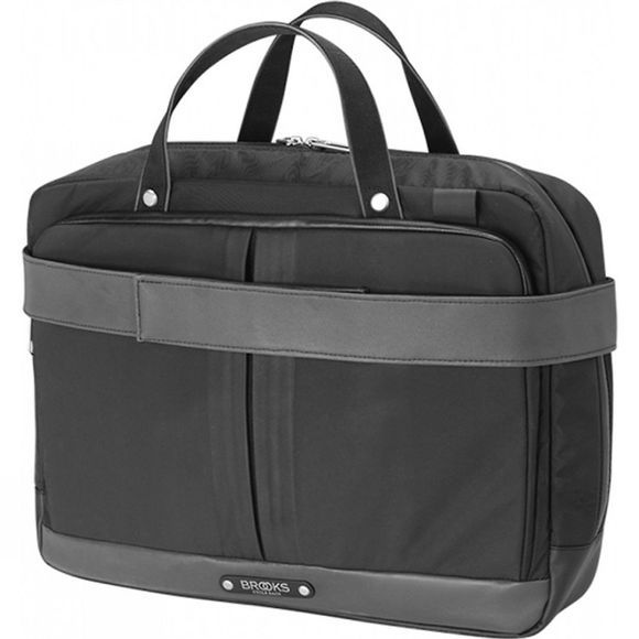 Brooks England New Street Briefcase Black