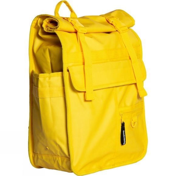 Goodordering Rolltop Backpack and Pannier - Brompton Friendly Yellow