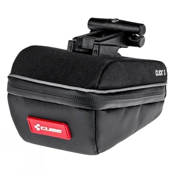 Cube Saddle Bag Click S Black