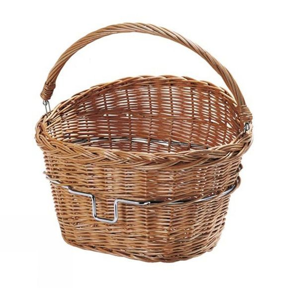 Rixen Wicker Basket Brown
