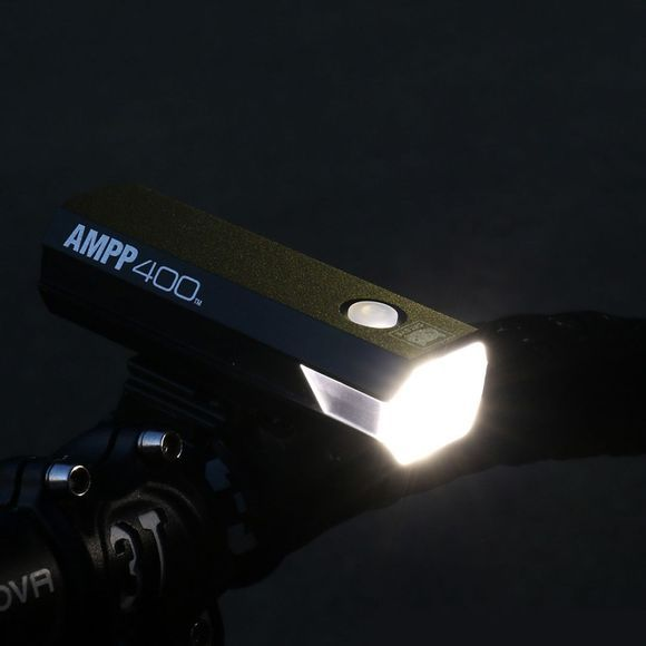 Cateye AMPP 400 Front Light Black