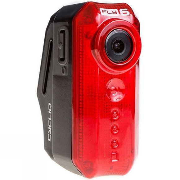 Cycliq FLY6(V) Rear Bike Light with Camera Black          /Red