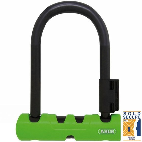 Abus Ultra 410 Mini D-Lock 140mm Black          /Green