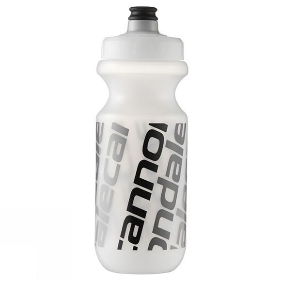 Cannondale Diagonal Logo Bottle 20oz Clear / Black