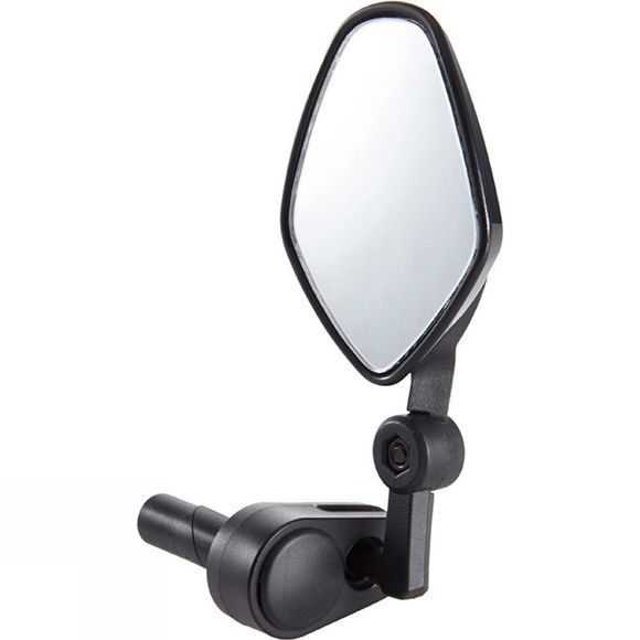 M-Part Commute Mirror with Internal Bar-End Clamp Black
