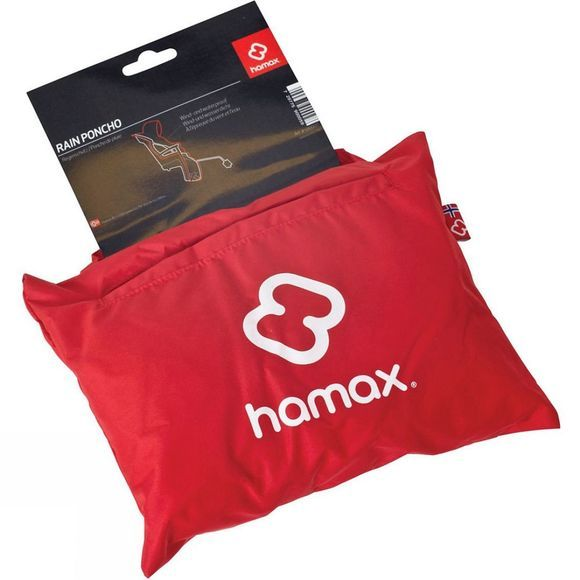 Hamax Rain Cover Red