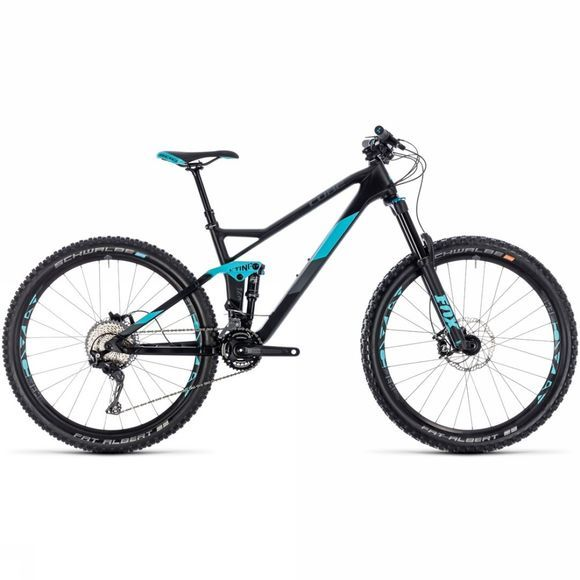 Cube Sting WS 140 HPC Race 2018 Womens carbon/aqua