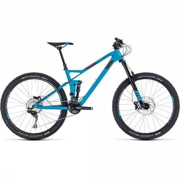 Cube Stereo 140 HPC Race 27.5 2018 blue/grey