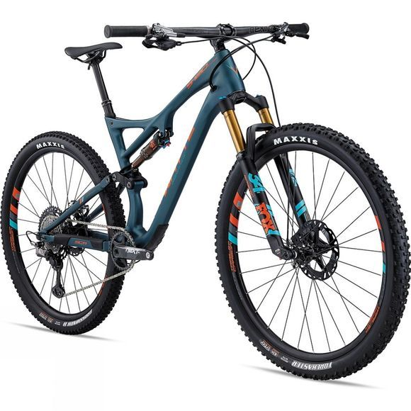 Whyte S-120C WORKS 2020 Matt Petrol with Orange/Reef/Grey