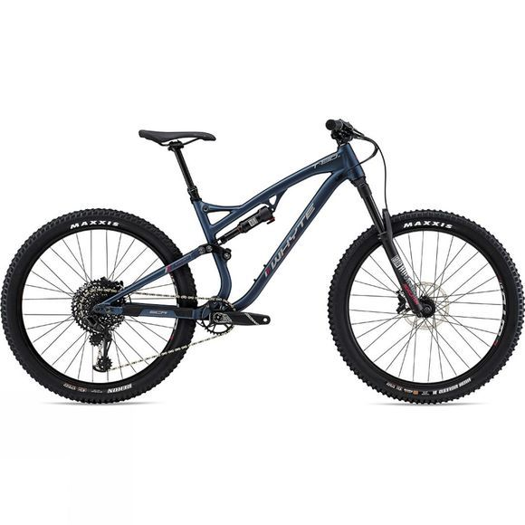 Whyte T-130 S 2019 Matt Midnight with Pewter/Dark Red