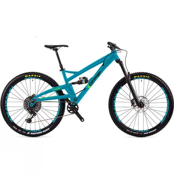 Orange Stage 6 RS-2018 Tropical Blue/Green