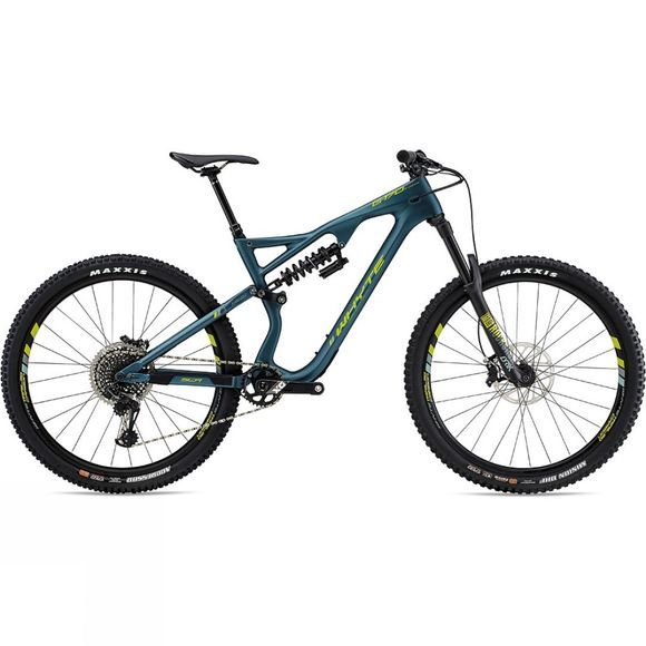 Whyte G-170C WORKS 29er 2019 Matt Petrol with Lime/Mist/Grey