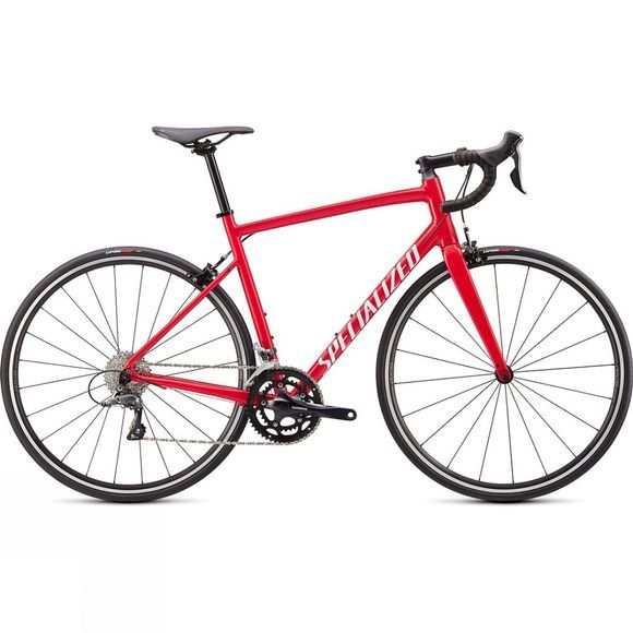 Specialized Unisex Allez 2020 Gloss Flo Red/White Clean