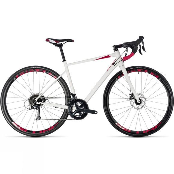 Cube Axial WS Pro 2018 Womens white/berry