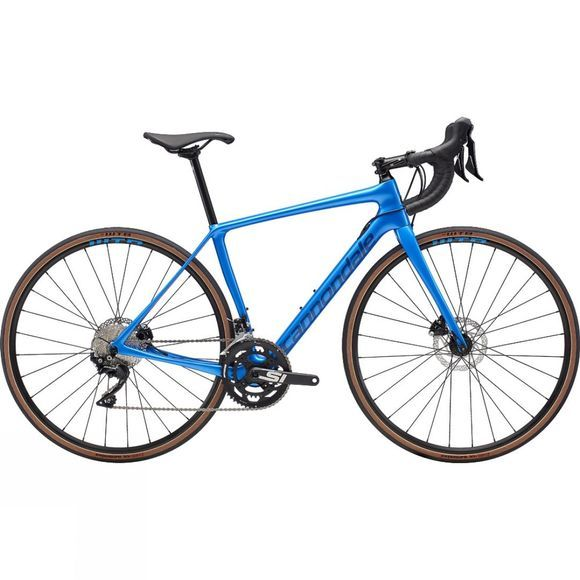 Cannondale Womens Synapse Carbon Disc SE 105 2019 Electric Blue