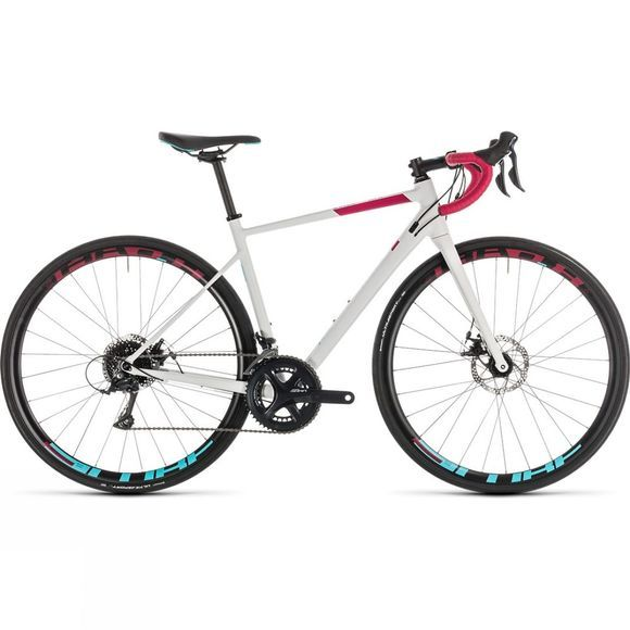 Cube Womens Axial Pro Disc 2019 White  Berry