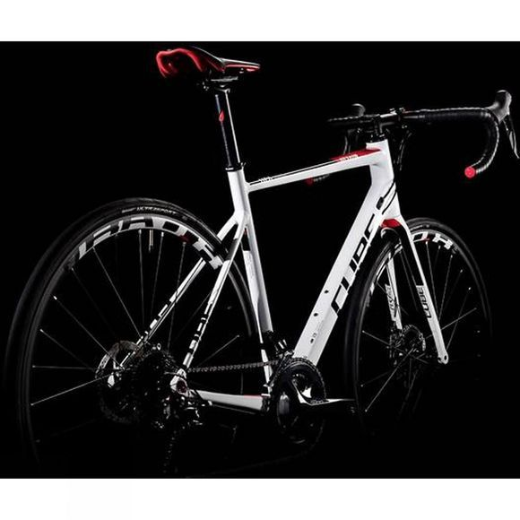 Cube Attain Pro Disc 2019 White  Red