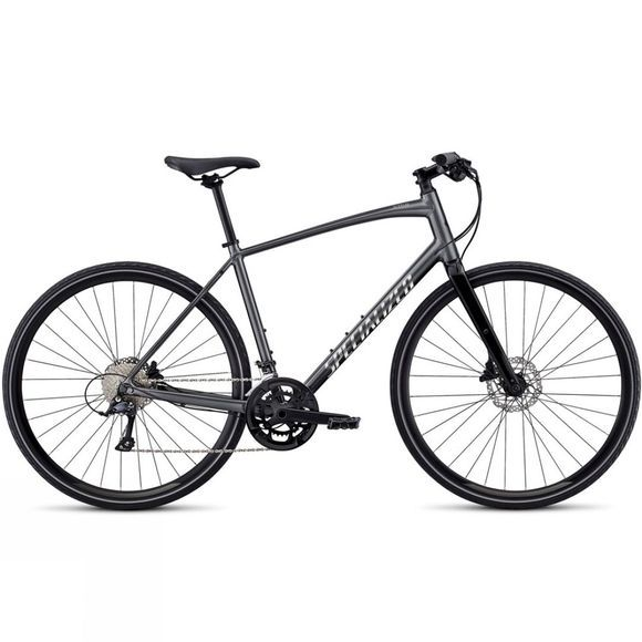 Specialized Sirrus Sport Alloy Disc 2019 Black Chrome/Chrome
