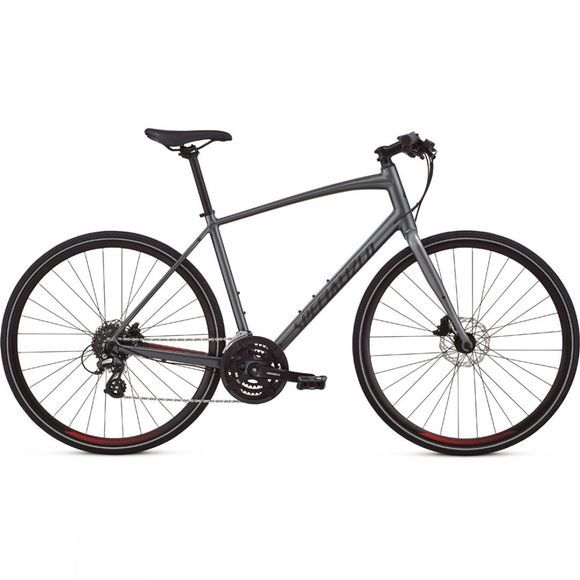 Specialized Sirrus Alloy Disc 2020 Charcoal/Candy Red/Black Reflective