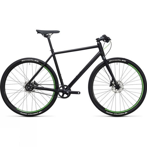 Cube Ex-Demo/ Ex-Display Hyde Race 2017 Black          /Bright Green