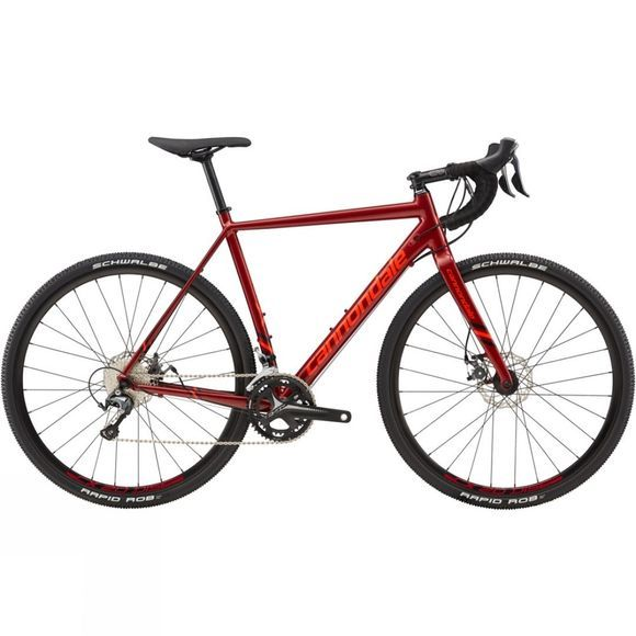 Cannondale CAADX Tiagra 2019 Fine Red/Acid Red