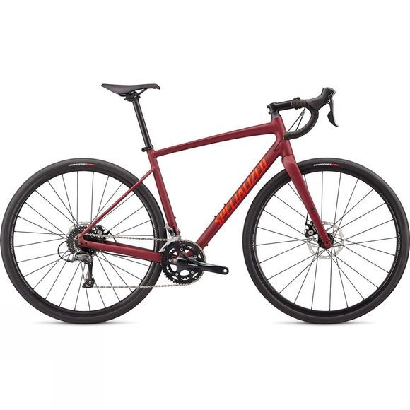 Specialized Unisex Diverge E5 2020 Satin Crimson/Rocket Red Clean