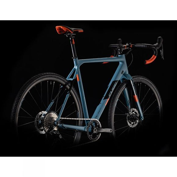 Cube Cross Race SL 2020 Blue Grey/Orange