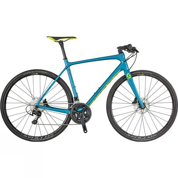 Scott Metrix 10 disc 2018 Blue/Yellow