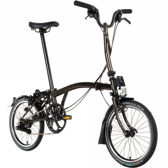 Brompton M6L Black Edition Premium 2018 Raw Lacquer/Black Edition
