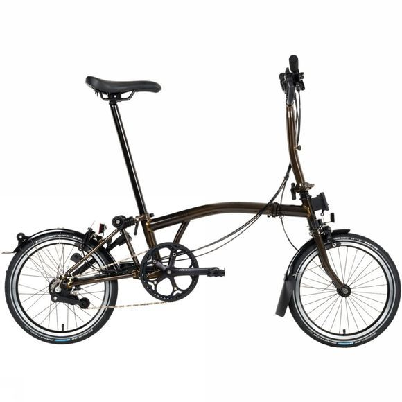 Brompton M6R Black Edition Premium 2018 Raw Lacquer/Black Edition/Dynamo/Carry Block/Telescopic