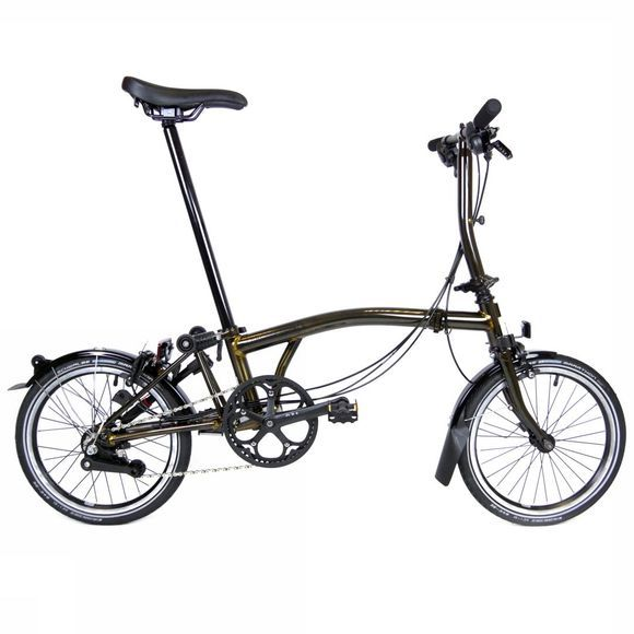 Brompton S6L Black Edition Premium 2018 Raw Lacquer/Black Edition