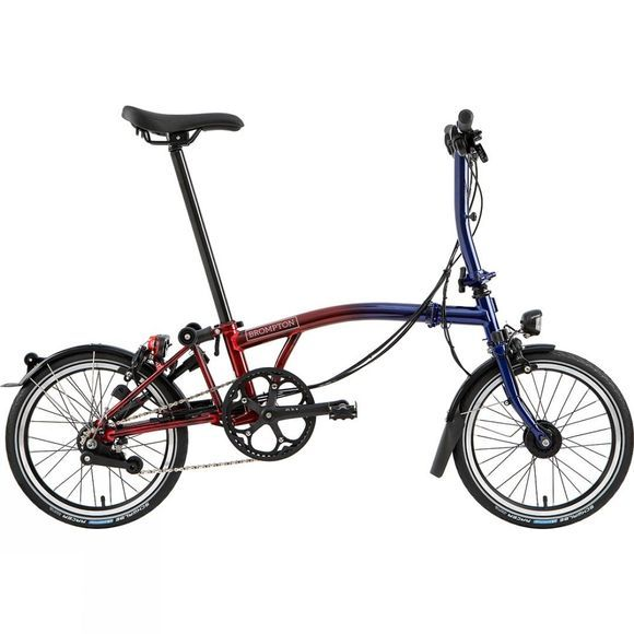 Brompton S2L Nine Streets Edition 2019 Nine Streets Red/Blue Lacquer