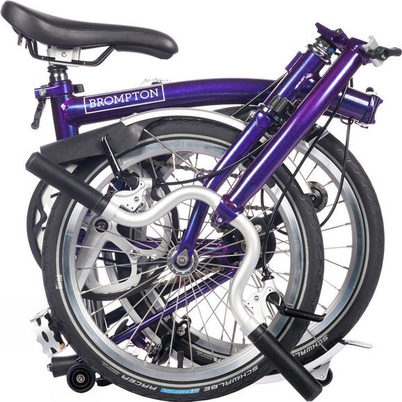 Brompton H3L Premium 2019 Purple Metallic