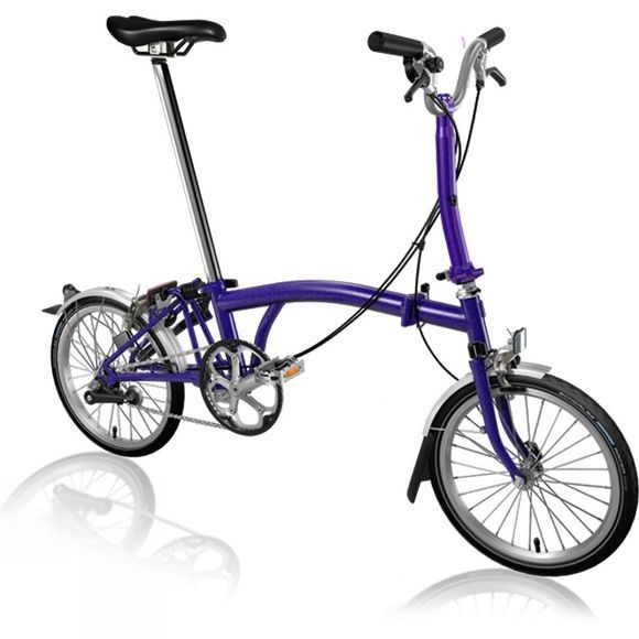Brompton M3L Premium 2019 Purple Metallic