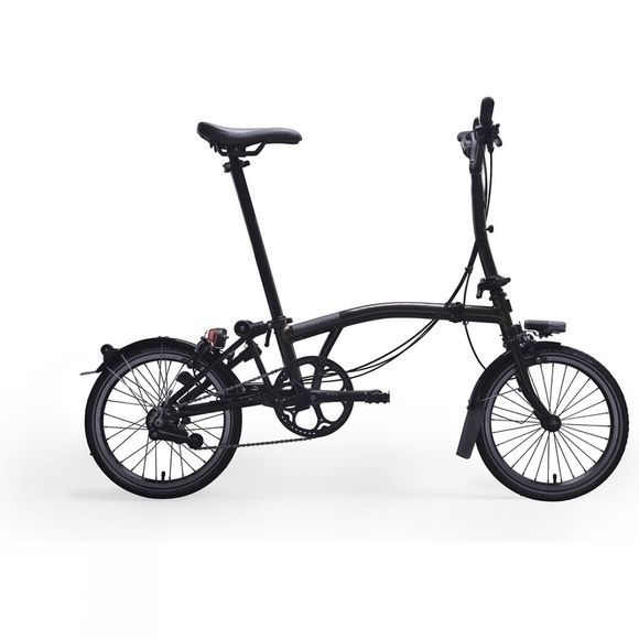 Brompton H6L Black Edition Premium 2019 Raw Lacquer/Black Edition