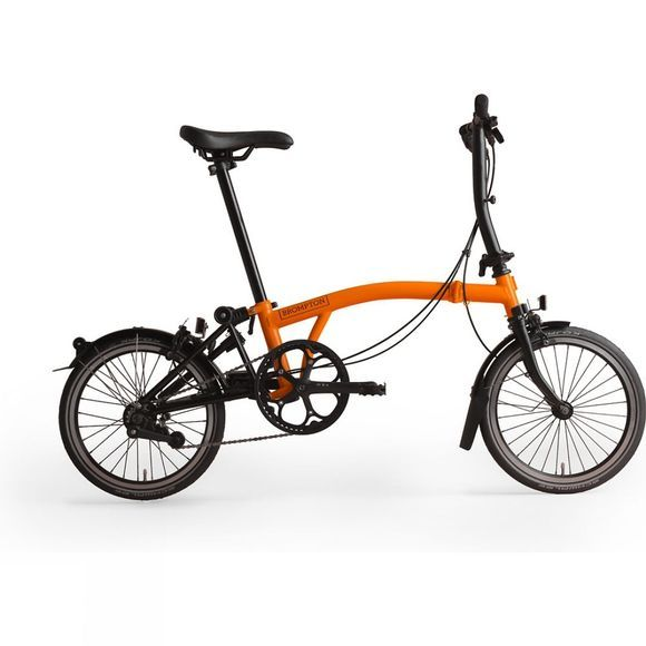 Brompton S2L Black Edition Superlight 2019 Gloss Orange/Black Edition Titanium