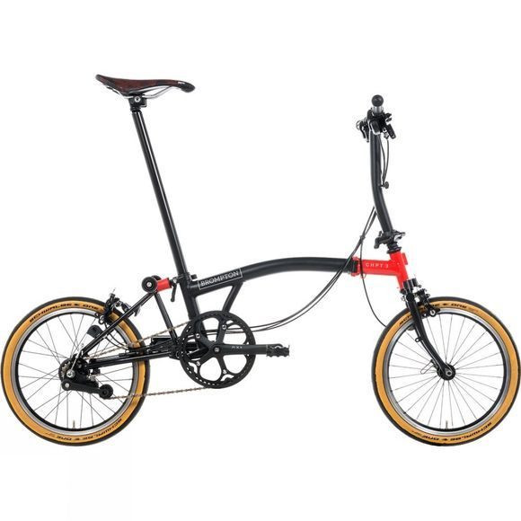Brompton S6E CHPT3 Edition Superlight 2019 Matt Black/Gloss Red