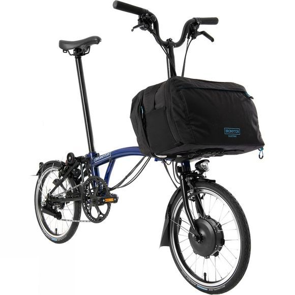Brompton M6L Electric Premium with City Bag Bolt Lacquer
