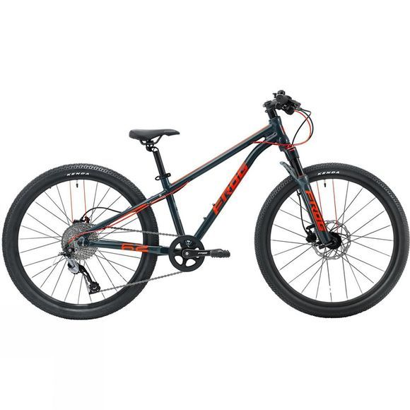 Frog Bikes Frog MTB 62 Metallic Grey / Neon Red