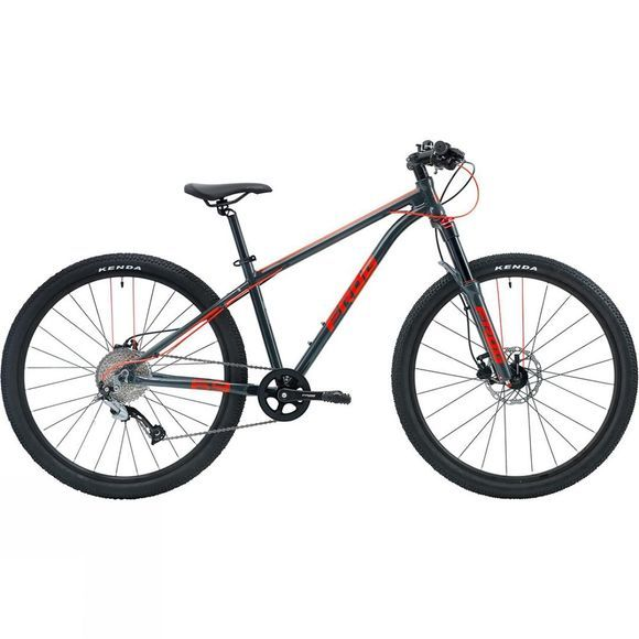 Frog Bikes Frog MTB 69 Metallic Grey / Neon Red