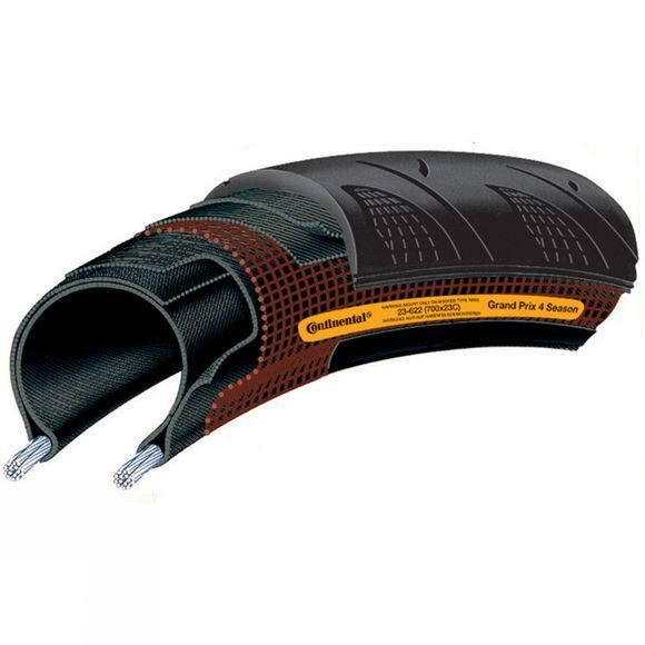 Continental GP 4 Season Tyre 700c x 23c Black
