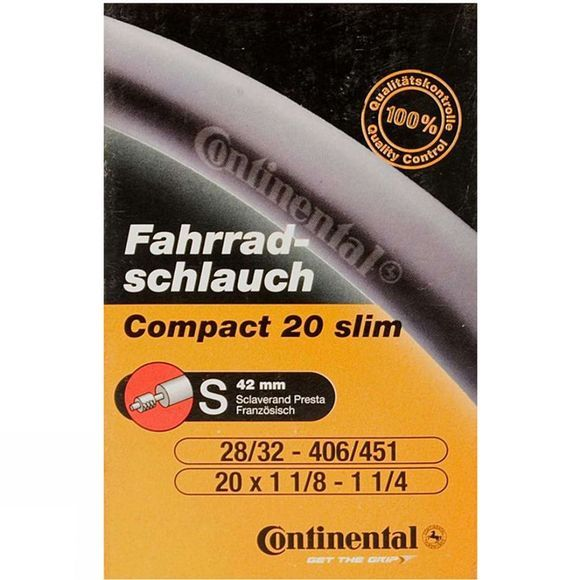 Continental Continental 20 x 1 Inner Tube No Colour