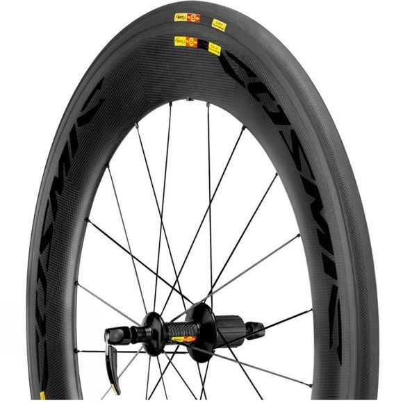 Mavic Cosmic CXR 80T Rear Wheel Black          /Dk Grey