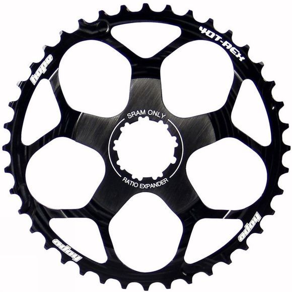 Hope T Rex 40 Tooth Cassette Sprocket Black