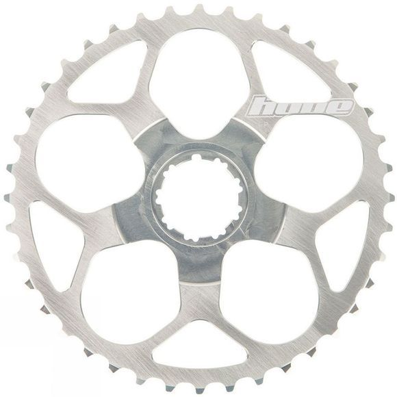 Hope T Rex 40 Tooth Cassette Sprocket Silver