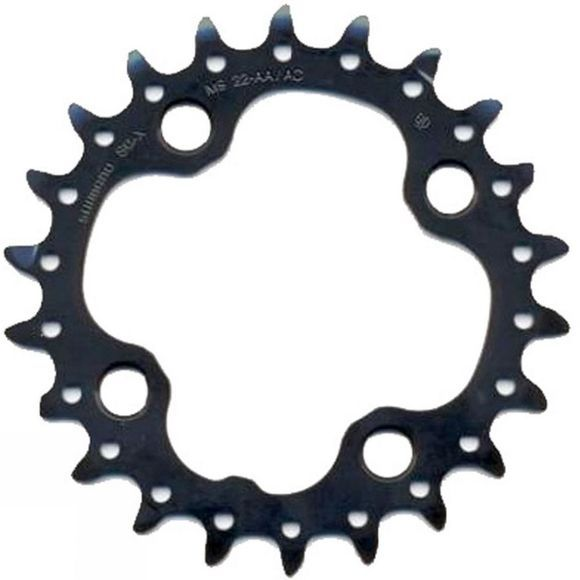 Shimano M660 22 Tooth Chainring Black