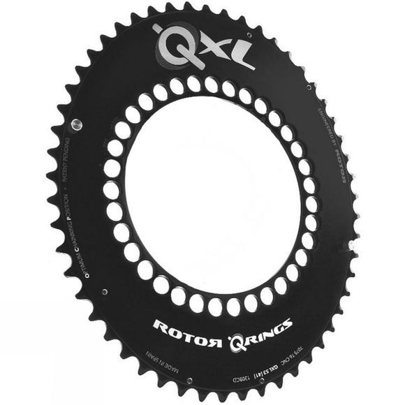 Rotor Qring XL Chainring Outer 110 BCD Black