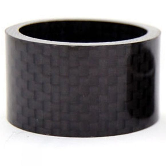 Cycle Surgery 20mm Carbon Headset Spacer Black          /Dk Grey