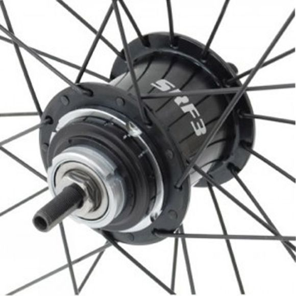 Brompton Wheel 3 Speed Ss Spokes Sturmey Silver