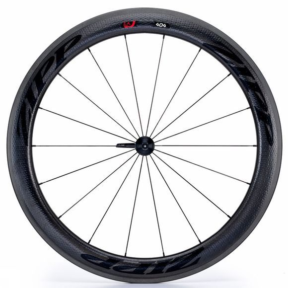 Zipp 404 Carbon Clincher Disc Front Wheel Black
